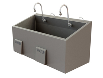 Es47 Surgical Scrub Sink Mac Medical Inc