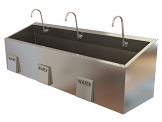 Es76 Surgical Scrub Sink Mac Medical Inc