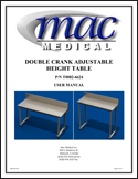 Microsoft Word - MAN-008 CUSTOM ADJUSTABLE HEIGHT TABLE MANUAL R