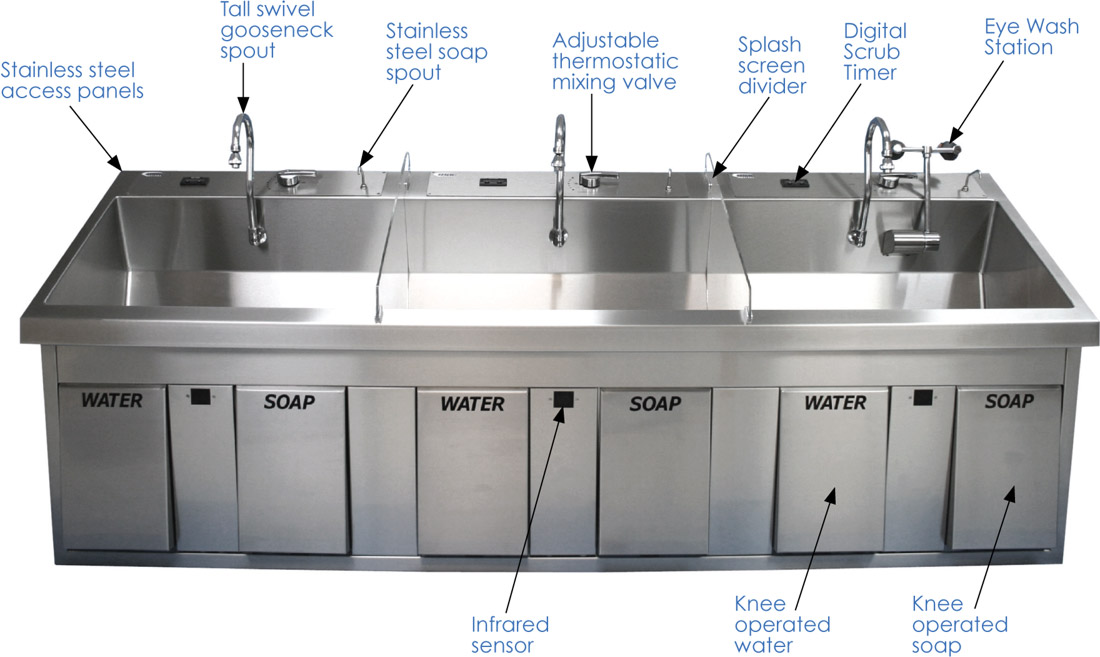 surgical-scrub-sinks-features