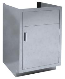 Single Solid Door Sink Cabinet Base Cabinets Mac Medical