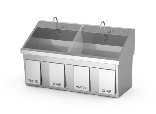 Ss64 Surgical Scrub Sink Mac Medical Inc